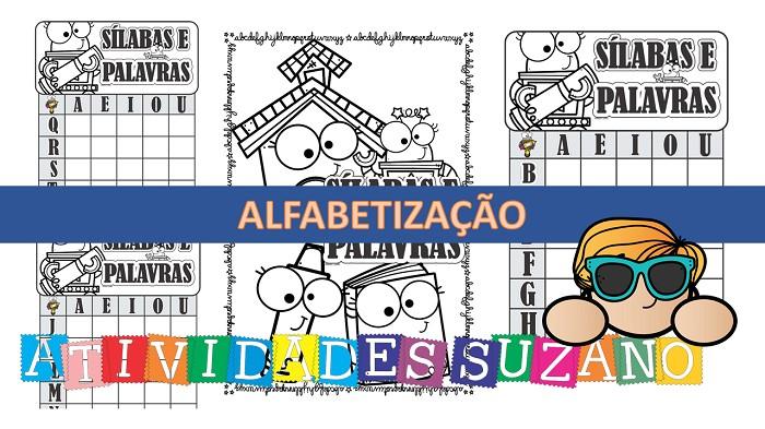 Imagem do produto Atividades de alfabetização: Letras e sílabas