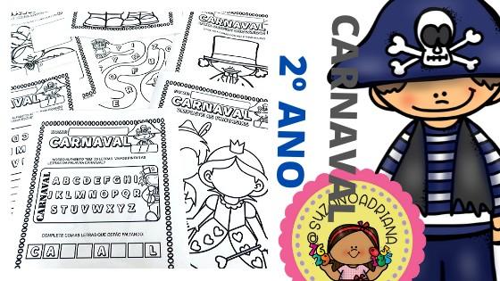 Imagem do produto Atividades de Carnaval para 2º ano