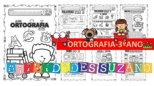 Imagem do produto Atividades de Língua Portuguesa- ortografia para o 3º ano