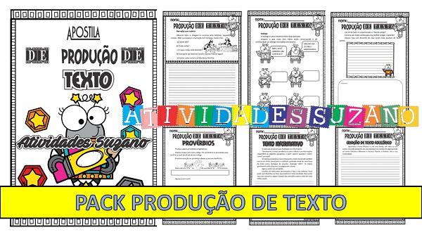 Imagem do produto Atividades de Língua Portuguesa: Pack produção de texto