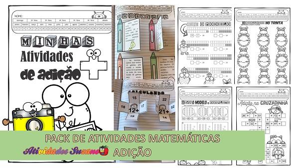 Atividades De Matematica So Adicao 3º Ano Atividades Pedagogica Suzano