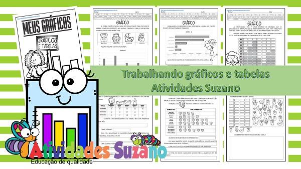 Imagem do produto Atividades de matemática: tabela e gráficos