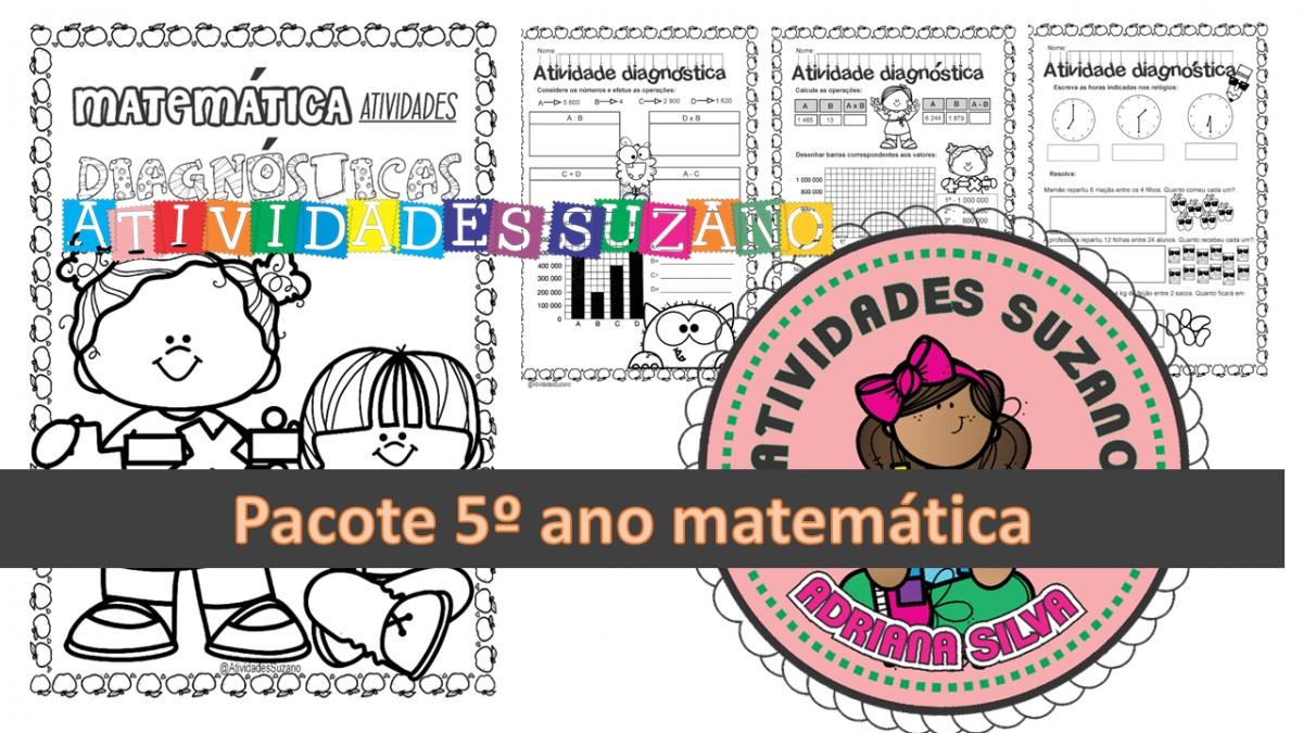 Imagem do produto Atividades diagnósticas de matemática