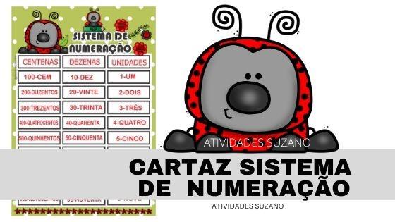 Imagem do produto Cartaz sistema de numeração até a centena