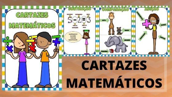 Imagem do produto Cartazes matemáticos ilustrados
