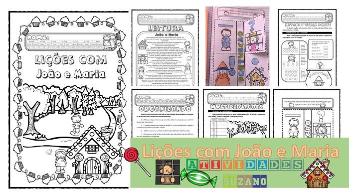 Imagem do produto Lições com João e Maria-3º ano
