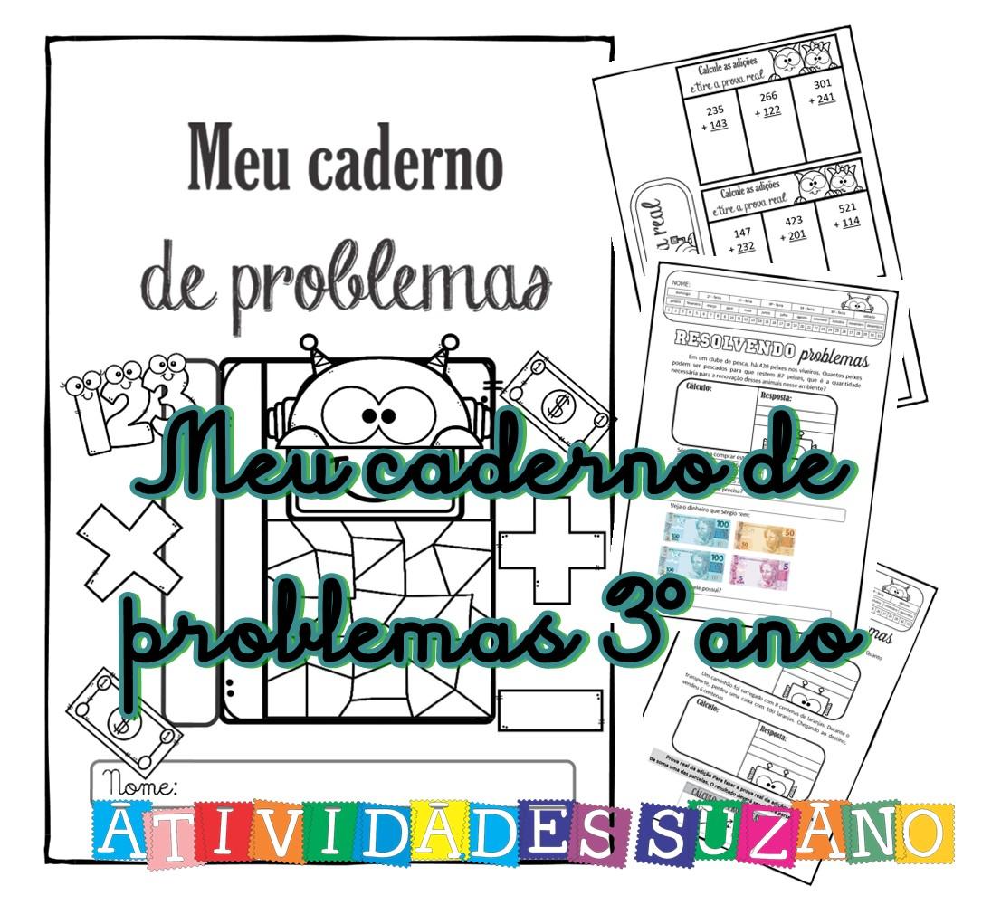 Imagem do produto Meu caderno de problemas 3º ano