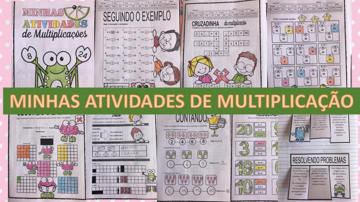 Imagem do produto Minhas atividades de multiplicação 2