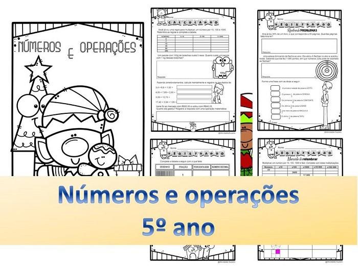 Imagem do produto Números e operações 5º ano
