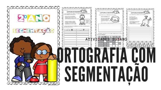 Imagem do produto Ortografia com segmentação de palavras