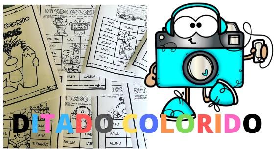 Imagem do produto Pacote Ditado colorido