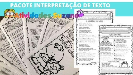 Imagem do produto Pacote Interpretação de texto