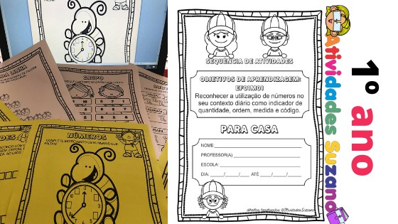 Imagem do produto Pacote lição de casa matemática para o 1º ano