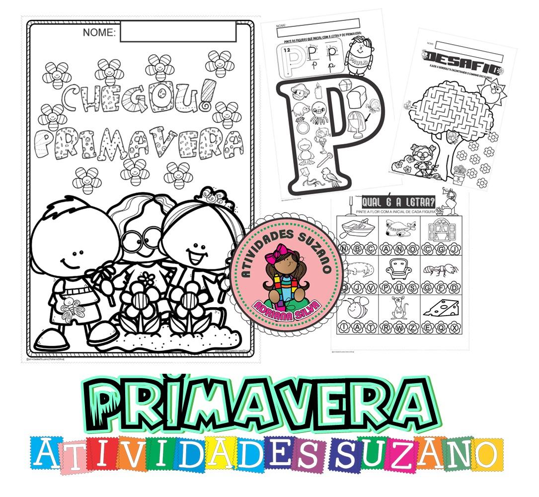 Imagem do produto Primavera-alfabetização
