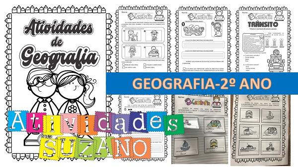 Imagem do produto Sobre as atividades de geografia 2º ano