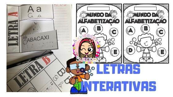 Imagem do produto Alfabeto interativo completo
