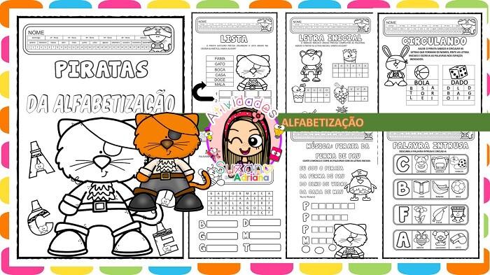 Imagem do produto Atividades de alfabetização e letramento