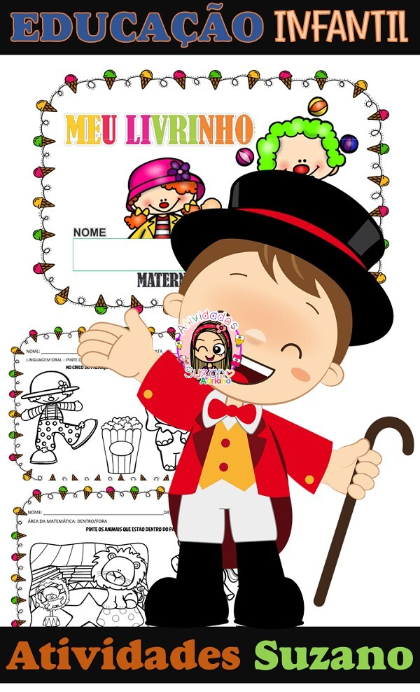 Imagem do produto Atividades de Educação Infantil: O circo