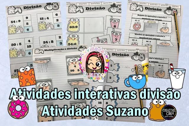 Imagem do produto Atividades interativas com divisão e multiplicação