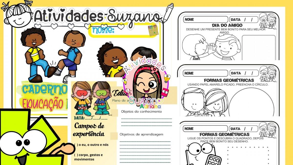 Imagem do produto Atividades para Educação infantil Caderno 3 anos