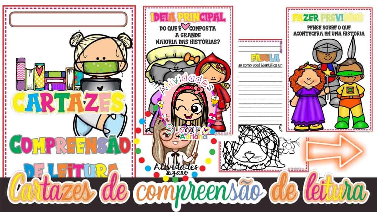 Imagem do produto Cartazes de compreensão de leitura