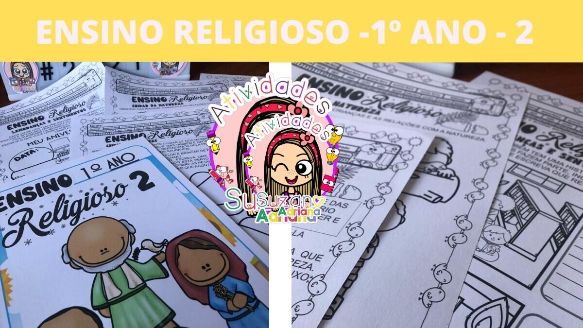 Imagem do produto Ensino religioso 1º ano pacote 2