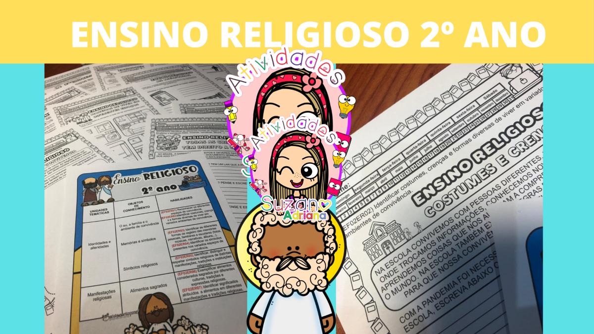Imagem do produto Ensino religioso 2º ano