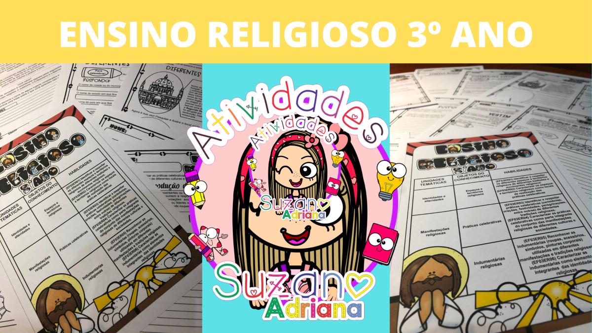 Imagem do produto ENSINO RELIGIOSO 3º ANO