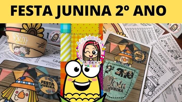 Imagem do produto Festa junina matemática - 2º ano