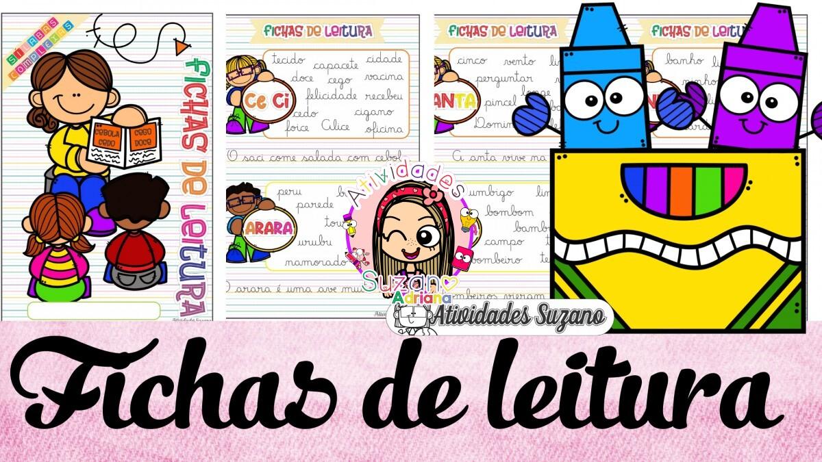 Imagem do produto Fichas de leitura