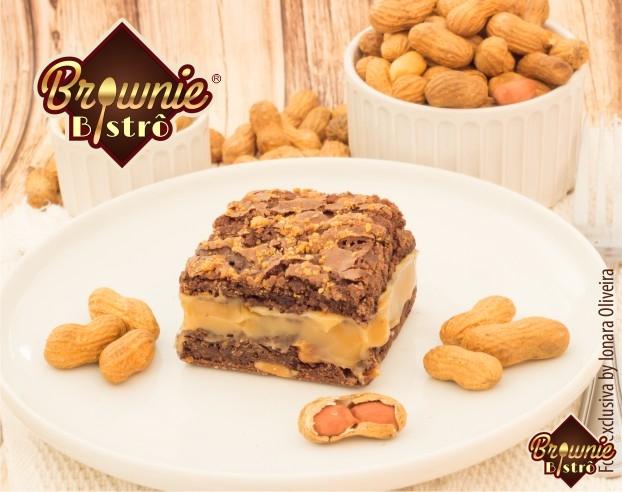 Foto 1 - Brownie de chocolate com paçoca