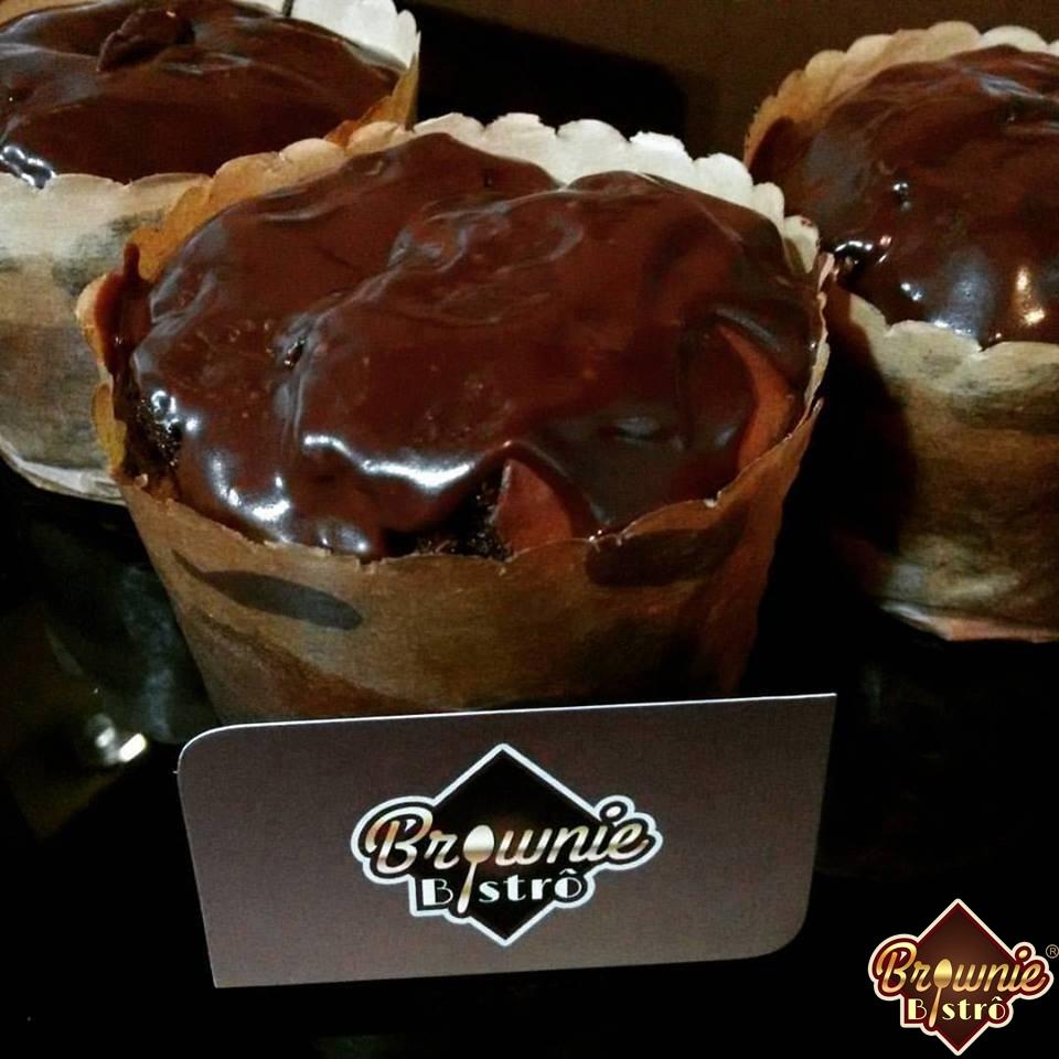Foto2 - Brownie de chocolate com paçoca