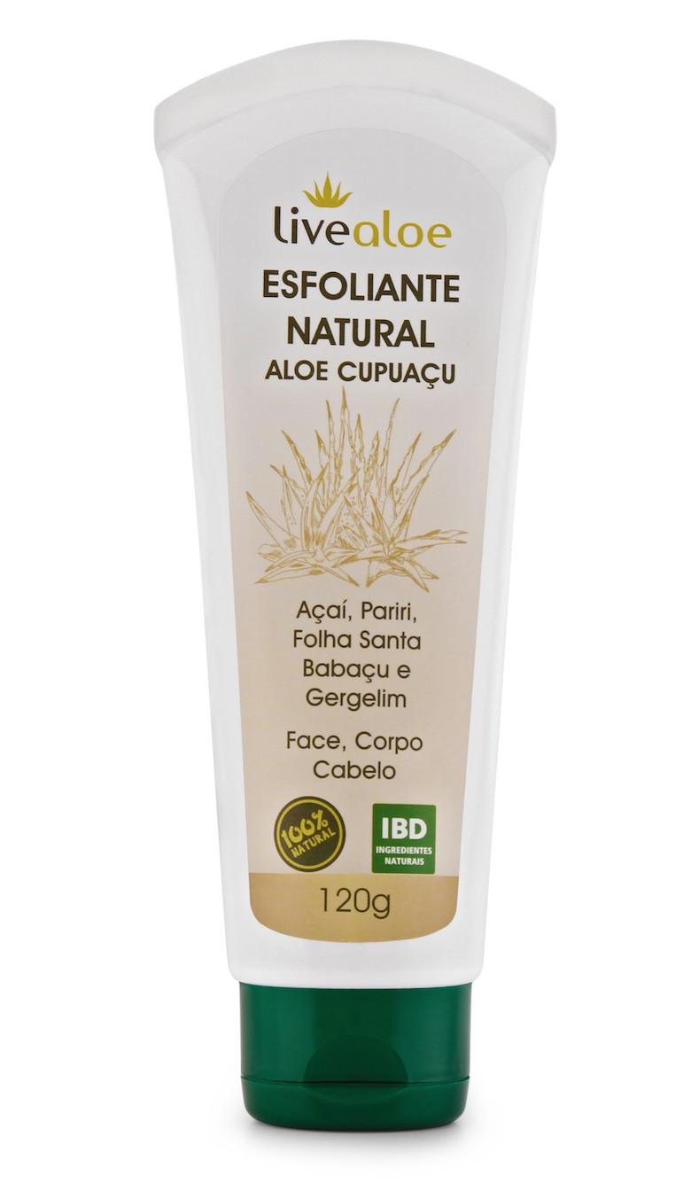 Foto 1 - ESFOLIANTE NATURAL ALOE CUPUAÇU