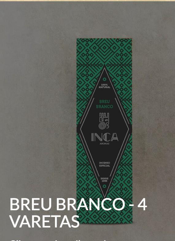 Foto 1 - Especial -Incenso Breu Branco - 4 varetas