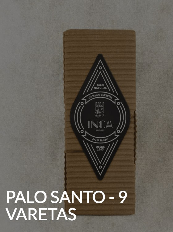 Foto 1 - Especial - Incenso Palo Santo - 9 varetas