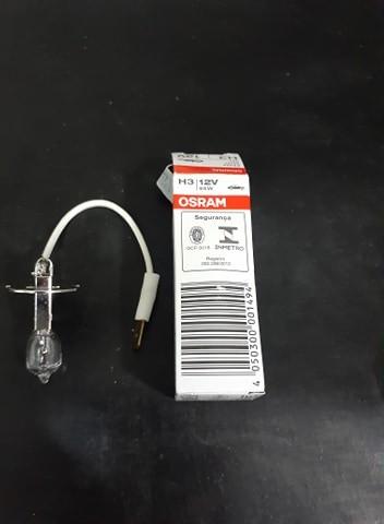 Foto 1 - Lâmpada refletor halogena H3 12 volts