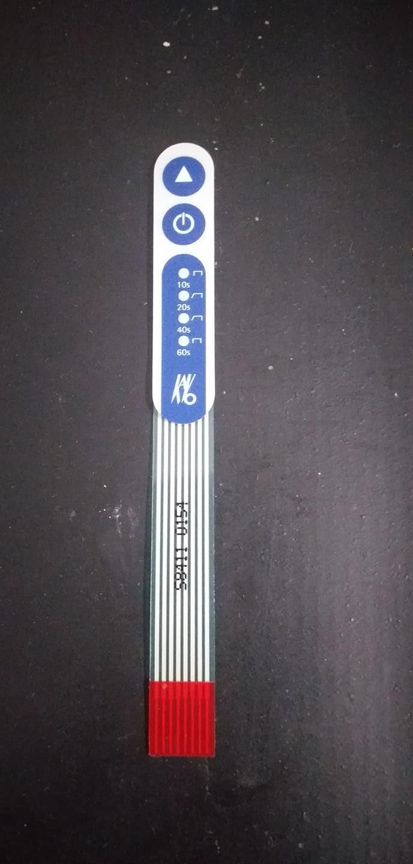 Foto 1 - Membrana Controle Poly Wireless (R)