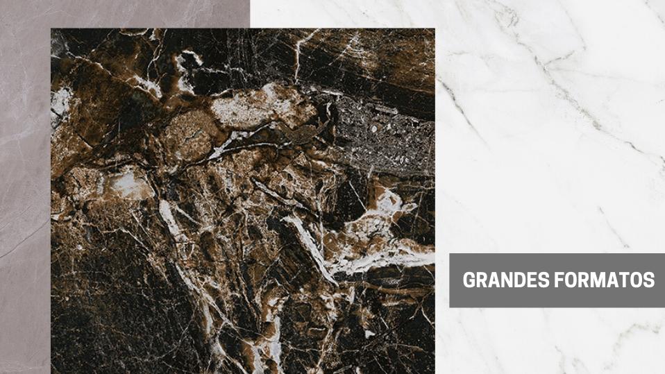 Os Grandes e Médios Formatos de Porcelanato