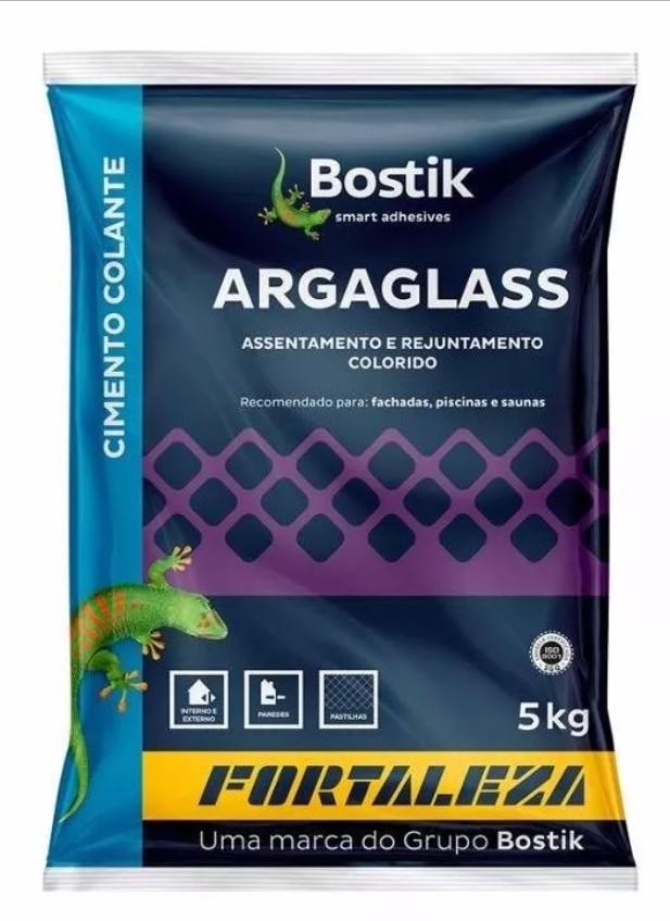 Imagem do produto ARGAMASSA ARGAGLASS PASTILHA DE VIDRO 5KG BRANCA - FORTALEZA