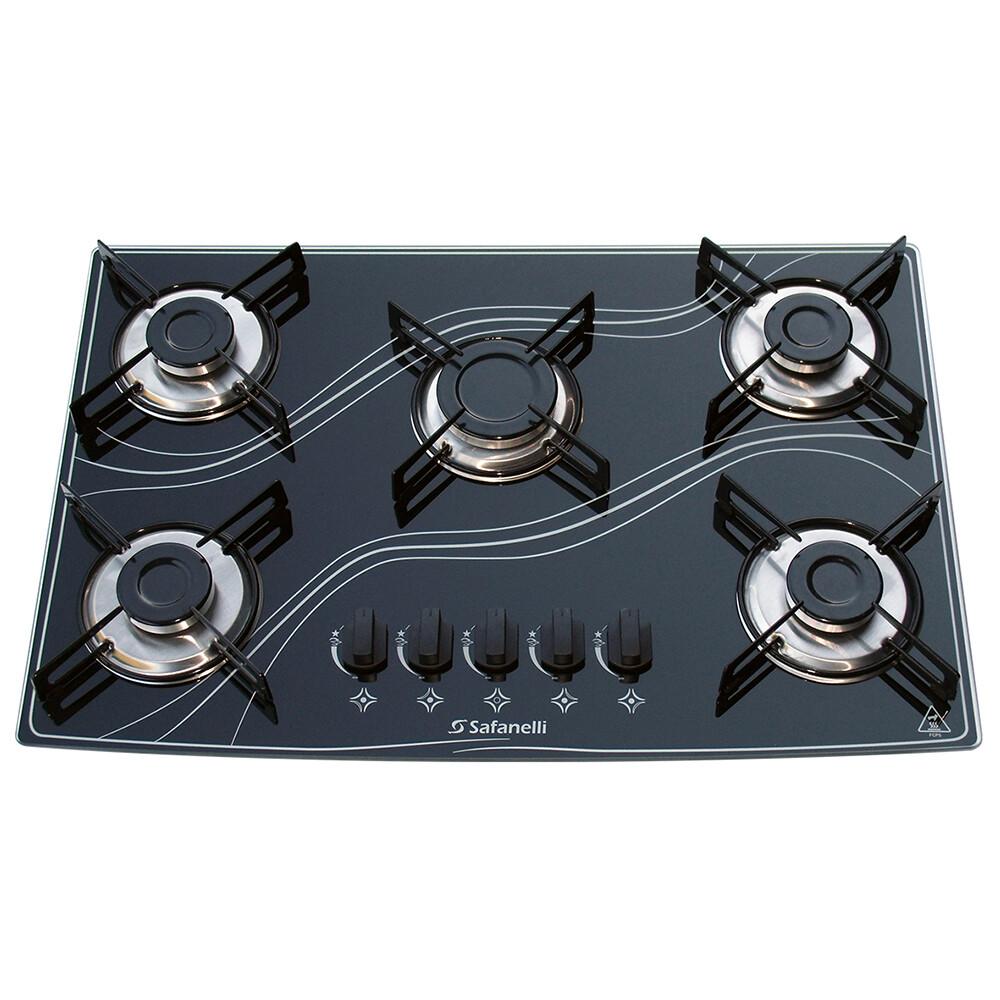 Imagem do produto Cooktop Tripla Chama 5 Bocas - Safanelli