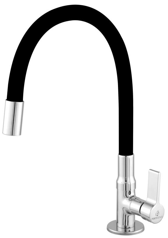 Imagem do produto Torneira Safira (Classic) Bancada Bica Móvel Tubo Silicone Arejador
