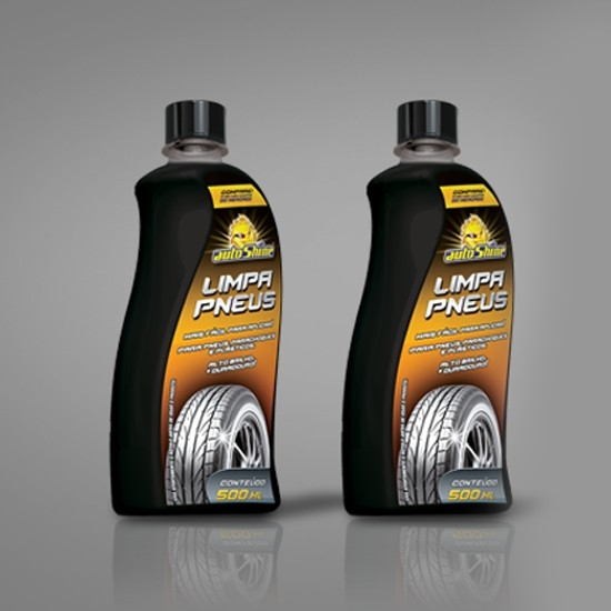 Foto 1 - Limpa Pneus AutoShine 500Ml.