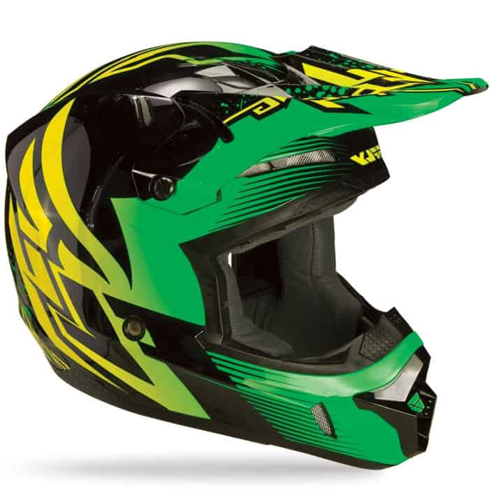 Foto 1 - CAPACETE FLY KINETIC INVERSION VERDE