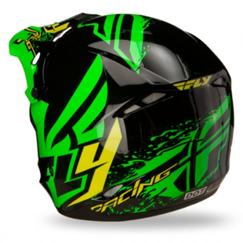 Foto2 - CAPACETE FLY KINETIC INVERSION VERDE