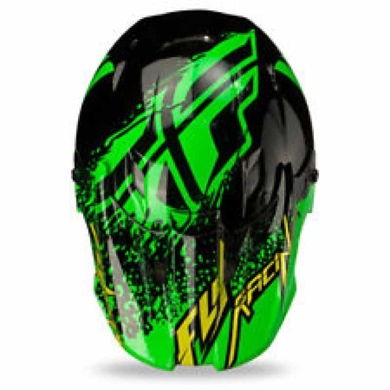 Foto3 - CAPACETE FLY KINETIC INVERSION VERDE