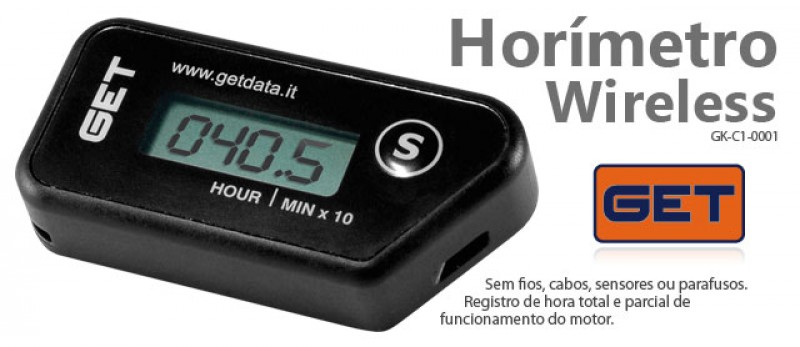 Foto 1 - HORÍMETRO DIGITAL WIRELESS GET