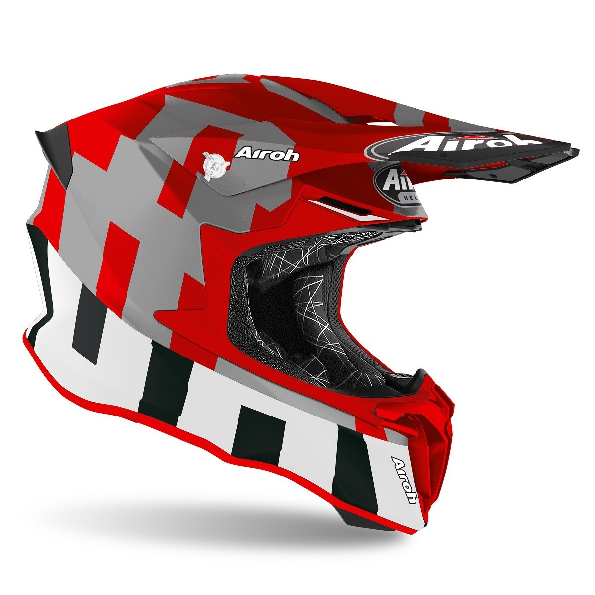Foto2 - Capacete Airoh Twist 2.0 - Frame Red
