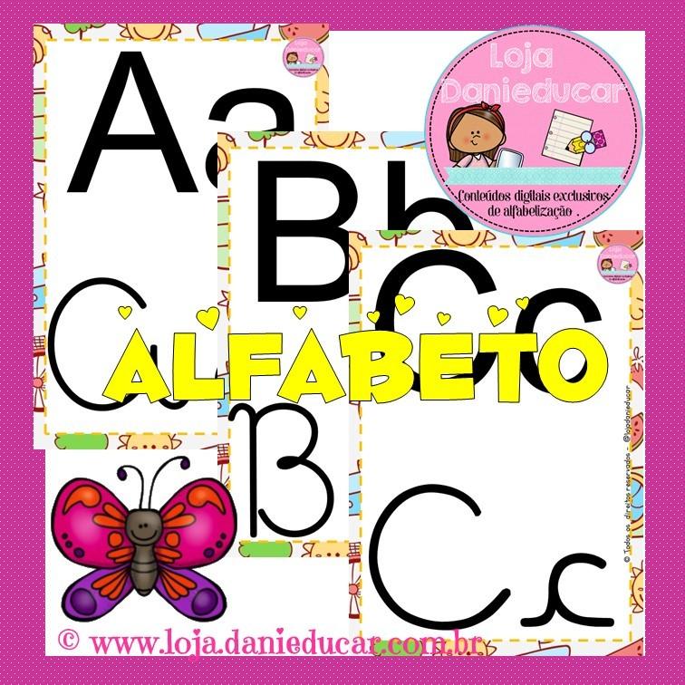 Imagem do produto Alfabeto de parede - 4 formas de escrita