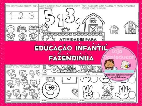 Imagem do produto Apostila de Matemática - Educação infantil