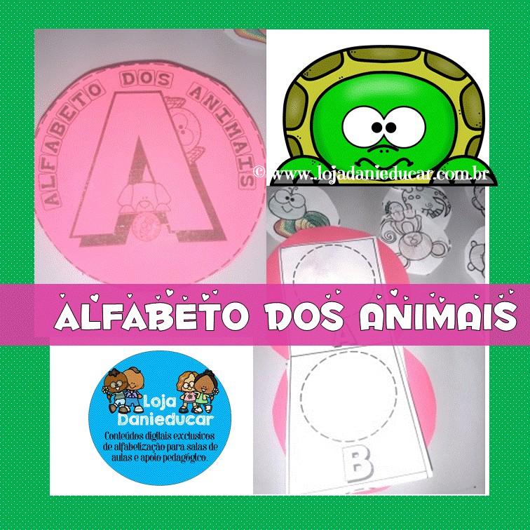 Imagem do produto Atividades com alfabeto dos animais